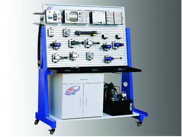Plc Based Hydraulic Trainer