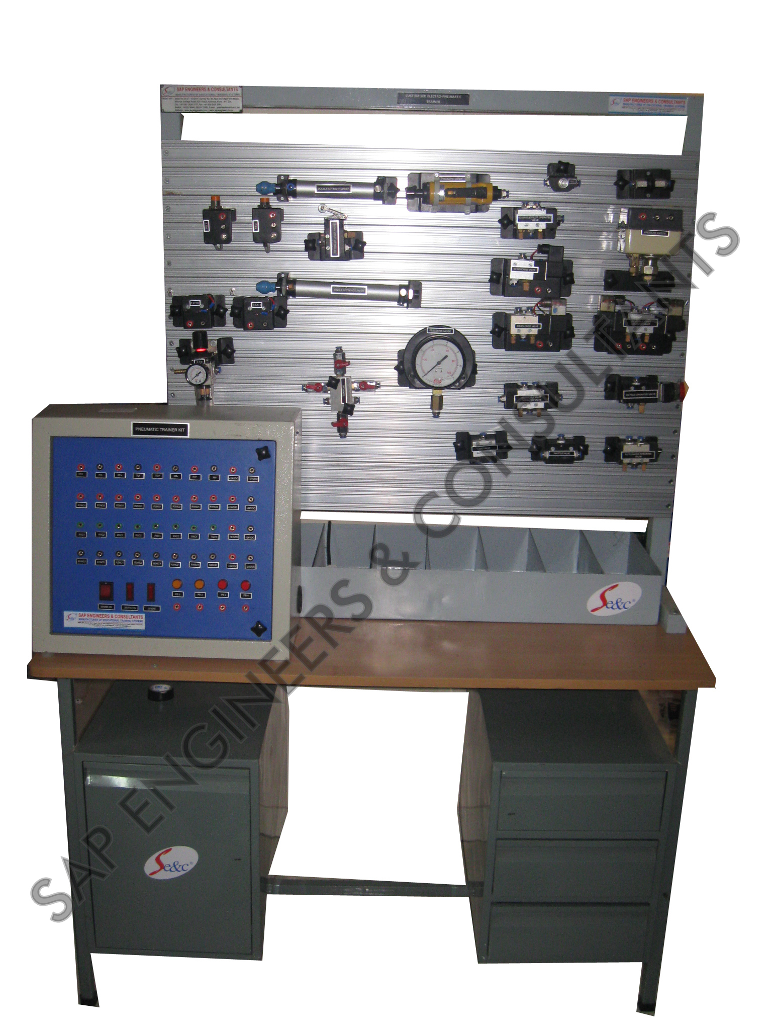 Plc Based Electropneumatic Trainer